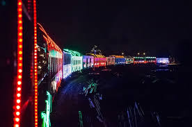 christmas lights train ride christmas train lights christmas decor inspirations