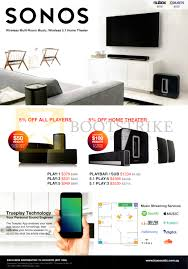 sonos as home theater system sonos tc acoustic speakers home theatre systems play 1 3 5 pc