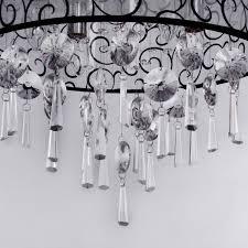 lightinthebox elegant transparent chandelier with 4 lights