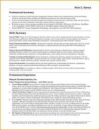 Employee Resume Example Of Customer Service Resume Resume Template And
