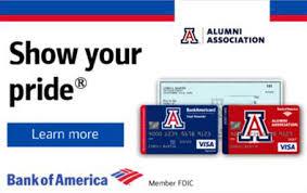 Bank Of America Design Cards Preferred Partners Ua Alumni Association