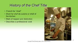 what is a chef de cuisine description chefs and entrepreneurs in the food industry culinary arts