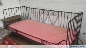 canapé lit fer forgé ikea lit canapé ikea en fer forgé sans sommier ni matelas a vendre
