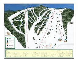 Iron Mountain Michigan Map by Pine Mountain Resort Ski Trail Map Iron Mountain Michigan United
