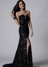 All Black Prom Dress Sparkly Black Prom Dresses 2016 2017 B2b Fashion