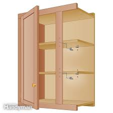 How To Take Cabinets Off The Wall How To Build Floating Shelf Family Handyman