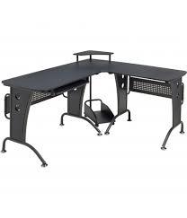 Large Black Computer Desk Unicorn Large Black Corner Computer Desk Piranha Trading
