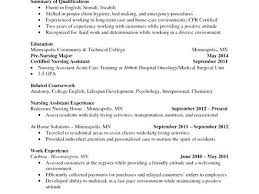 cna resume exles with experience cna resume sle sle of a resume nursing assistant resume