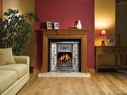 gazco classic victorian tiled convector fireplace canterbury
