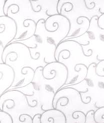 Black And White Drapery Fabric Embroidered Drapery Fabric Onlinefabricstore Net