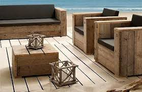 Build Wood Outdoor Furniture by Diy Modern Patio Furniture Plan From Anawhitecom Free Plans To