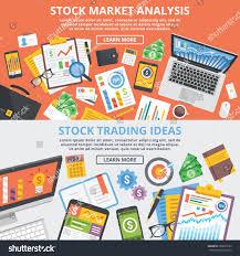 stock market analytics stock trading ideas stock vector 306623195