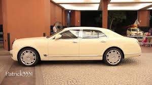bentley mulsanne speed white autopro review bentley mulsanne cream white youtube