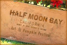 Half Moon Bay Pumpkin Festival by Bliss Ranch Pine Box With French Lime Paint