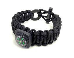black survival bracelet images The ultimate paracord survival bracelet kit by last man survival gear jpg