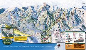 Utah Ski Resort Map by The Canyons Park City Ski Map Free Download