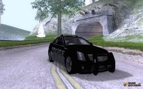 2009 cadillac cts v police for gta san andreas