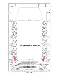 Floor Plan Of Auditorium Taper Auditorium