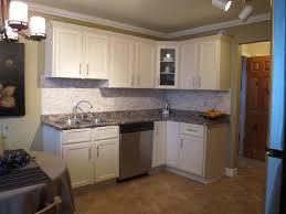 kitchen white wood cabinet door black granite countertop white