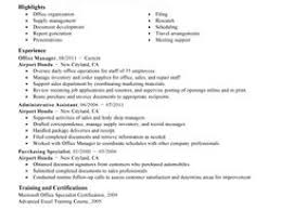 Federal Resume Examples by Office Automation Clerk Cover Letter