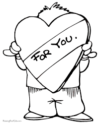 printable valentine hearts coloring pages 019