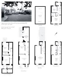 Georgian Mansion Floor Plans English Terraced House Plans House Interior