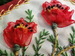 silk ribbon roses 830 best ribbon roses tutorial images on fabric