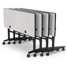 24 x 60 folding table balt lumina flip top folding table 60 x 24 hpl top 90066