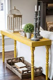 Modern Entry Table by Inspiratie Sidetable Achter De Bank Fresco Modern Rustic And