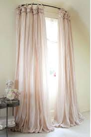 Curtain Rods Images Inspiration Use A Curved Shower Curtain Rod To Make A Window Look Bigger