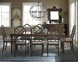 emporium bamboo rectangular dining set mahogany progressive
