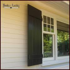 Shutters For Homes Exterior - board and batten shutters exterior shutter panels hooks and lattice