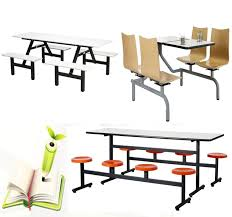 Cafe Dining Table And Chairs School Desk And Chair Canteen Furniture Cafe Dining Tables Folding