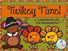 turkey time a thanksgiving unit for kindergarten by natalie s nook
