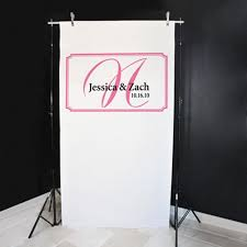 wedding backdrop personalized personalized photo backdrop