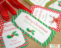 personalized christmas gifts personalized christmas tags pixiebear party printables