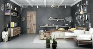 chambre style loft industriel deco industrielle chambre pas cher pour loft ration
