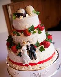 beautiful wedding cake with strawberry filling recipe strawberry