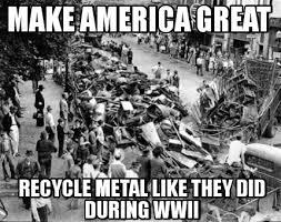 Black Metal Meme Generator - meme creator make america great recycle metal like they did