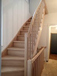 garde corps bois escalier interieur escaliers en hêtre nicolas dupriez escaliers bois