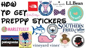 preppy decals how to get preppy stickers