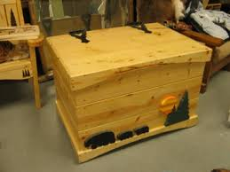 building nice wood useful toy box plans treasure chest