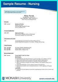 Icu Nurse Job Description Resume by New Registered Nurse Resume Sample Nurse Sample Cover Letter