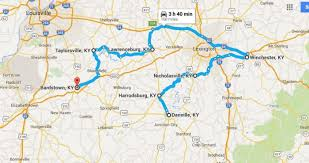 kentucky map bardstown 8 charming stops on a small town road trip in kentucky