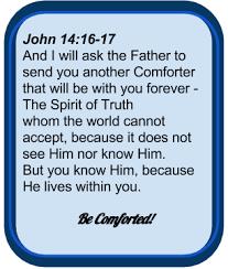 Holy Spirit My Comforter My Christian Contemplations Fibromyalgia Gone Holy Spirit In