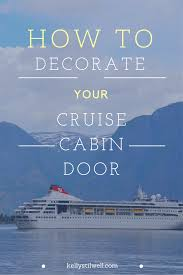 Massachusetts cruise travel images 10 ideas for decorating your cruise cabin door cabin doors png