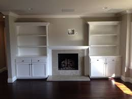 Living Room Wall Shelving by Best 25 Shelves Around Fireplace Ideas On Pinterest Craftsman