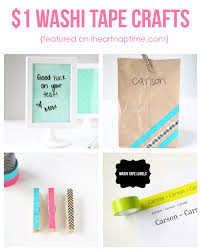 cute and easy 1 washi tape crafts i heart nap time