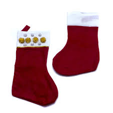 christmas stocking decorate your own festive stocking