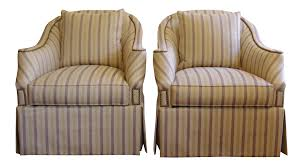 Club Swivel Chairs by Hickory Chair Eton Swivel Chairs A Pair Chairish